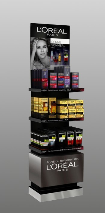 Loreal display rack