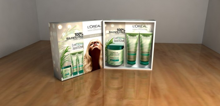 loreal christmas box 3d