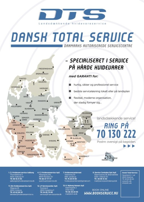 DTS Flyer design